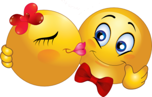 Kiss Smiley PNG HD PNG Clip art