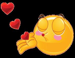 Kiss Smiley PNG Image PNG Clip art