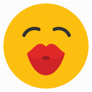 Kiss Smiley PNG Transparent Image PNG Clip art