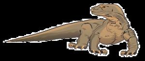 Komodo Dragon Transparent Background PNG Clip art