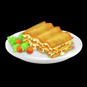 Lasagna PNG Pic PNG Clip art