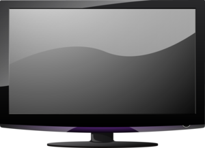 LCD Television PNG Pic PNG Clip art