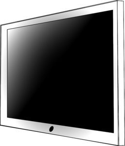 LCD Television Transparent Background PNG Clip art