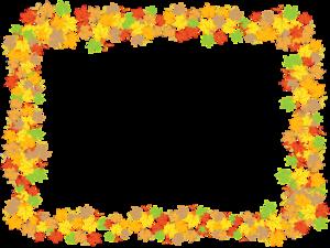 Leaf Frame PNG Pic PNG Clip art
