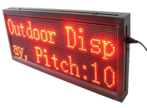 LED Display Board PNG File PNG Clip art