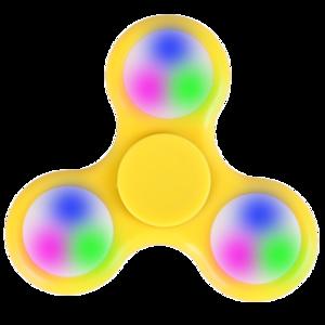 LED Fidget Spinner PNG HD PNG Clip art