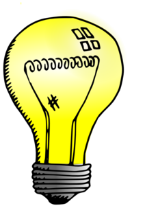Light Bulb Background PNG PNG Clip art