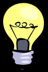 Light Bulb PNG Background Image PNG Clip art