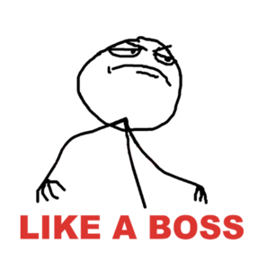 Like A Boss PNG File PNG Clip art