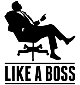 Like A Boss Transparent Background PNG Clip art