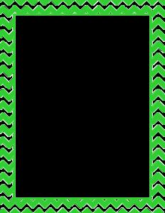 Lime Border Frame PNG Clipart PNG Clip art