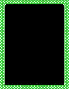 Lime Border Frame PNG HD PNG Clip art