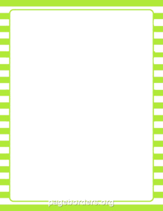 Lime Border Frame PNG Photo PNG Clip art