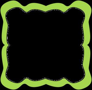 Lime Border Frame PNG Transparent Image PNG Clip art
