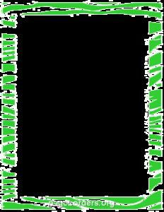 Lime Border Frame PNG Transparent PNG Clip art