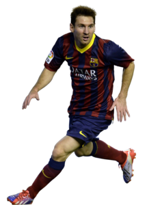 Lionel Messi Transparent Background PNG Clip art