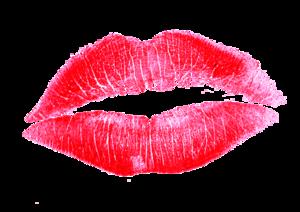 Lipstick Kiss Transparent Background PNG image