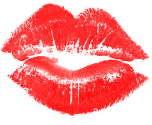 Lipstick Kiss Transparent PNG PNG clipart