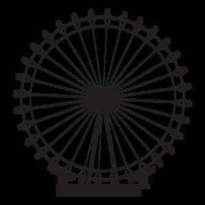 London Eye Transparent PNG PNG Clip art