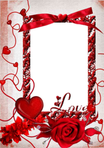 Love Frame PNG HD PNG Clip art