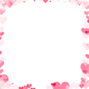 Love Frame PNG Transparent Picture PNG icons