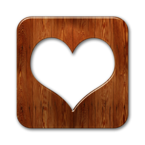 Love Wood Transparent Background PNG Clip art