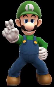 Luigi Transparent Background PNG Clip art