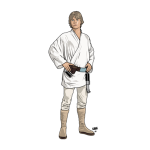Luke Skywalker Transparent Background PNG Clip art