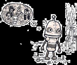 Machinarium PNG Image PNG Clip art