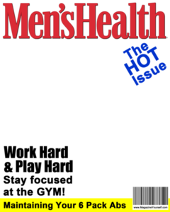 Magazine Cover PNG File PNG Clip art