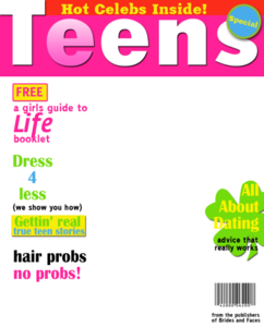 Magazine Cover PNG Photos PNG Clip art