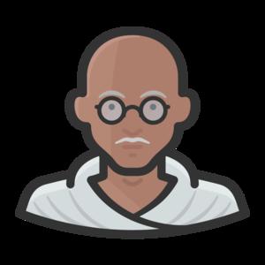 Mahatma Gandhi PNG Pic PNG Clip art