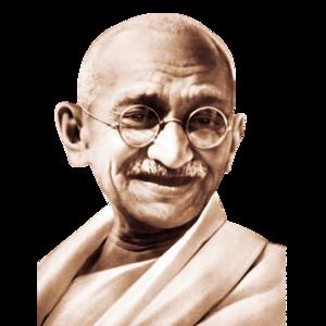 Mahatma Gandhi Transparent Background PNG Clip art