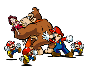 Mario Vs Donkey Kong PNG Transparent Picture PNG Clip art