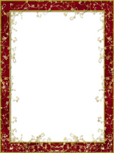 Maroon Border Frame PNG Clipart PNG Clip art