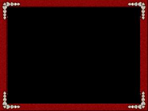 Maroon Border Frame PNG Free Download PNG Clip art