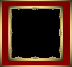 Maroon Border Frame Transparent PNG PNG Clip art
