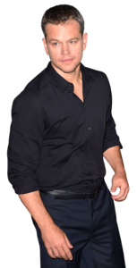 Matt Damon PNG Transparent Image PNG Clip art