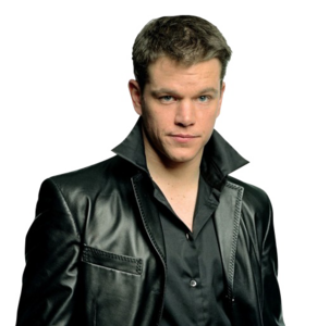 Matt Damon Transparent Background PNG Clip art