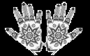 Mehendi Hand Designs PNG File PNG Clip art