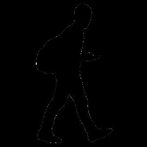 Men Silhouette PNG Pic PNG Clip art
