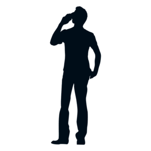 Men Silhouette Transparent PNG PNG Clip art