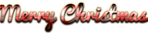 Merry Christmas Word Art PNG Clipart PNG Clip art