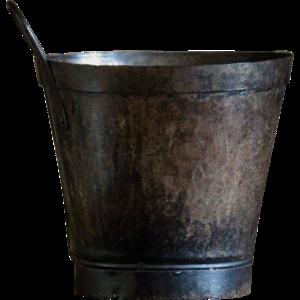 Metal Bucket Transparent PNG PNG Clip art