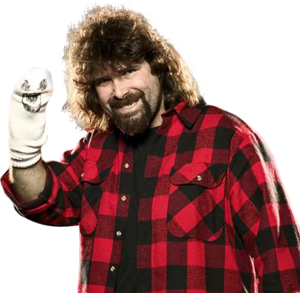 Mick Foley Transparent Background PNG clipart