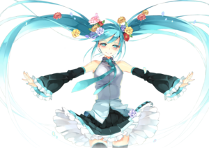 Miku Hatsune PNG Download Image PNG Clip art