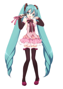 Miku Hatsune PNG HD Quality PNG Clip art