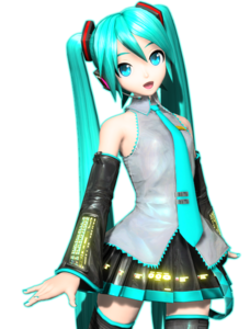 Miku Hatsune PNG Pic Background PNG Clip art