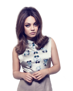 Mila Kunis PNG Picture PNG Clip art