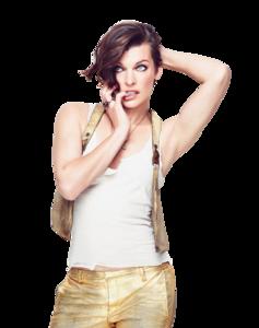 Milla Jovovich PNG Image PNG Clip art
